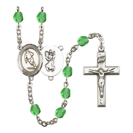 R6000 Series Rosary<br>St. Christopher / Rugby<br>Available in 12 Colors