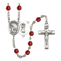 R6000 Series Rosary<br>St. Christopher / Football<br>Available in 12 Colors