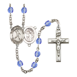 R6000 Series Rosary<br>St. Sebastian/Football<br>Available in 12 Colors