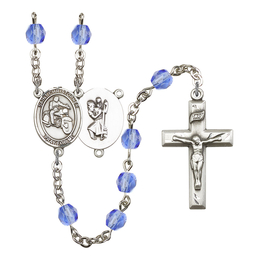 R6000 Series Rosary<br>St. Christopher/Motorcycle<br>Available in 12 Colors