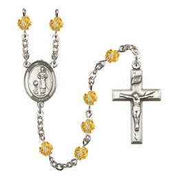 R6000 Series Rosary<br>St. Genesius of Rome<br>Available in 12 Colors