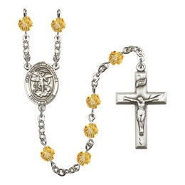R6000 Series Rosary<br>San Miguel Arcangel<br>Available in 12 Colors