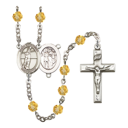 R6000 Series Rosary<br>St. Sebastian / Volleyball<br>Available in 12 Colors