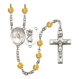 R6000 Series Rosary<br>St. Christopher/Water Polo-Men<br>Available in 12 Colors