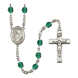 R6000 Series Rosary<br>St. Clare of Assisi<br>Available in 12 Colors