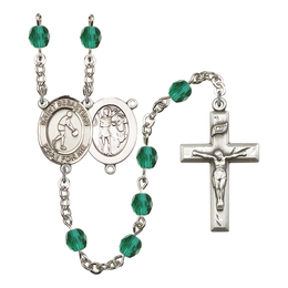 R6000 Series Rosary<br>St. Sebastian/Basketball<br>Available in 12 Colors