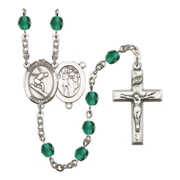 R6000 Series Rosary<br>St. Sebastian/Surfing<br>Available in 12 Colors