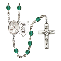 R6000 Series Rosary<br>St. Christopher/Water Polo-Women<br>Available in 12 Colors