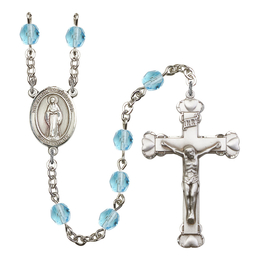 R6001 Series Rosary<br>Virgin of the Globe<br>Available in 12 Colors