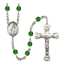 R6001 Series Rosary<br>St. Genesius of Rome<br>Available in 12 Colors