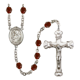 R6001 Series Rosary<br>St. Clare of Assisi<br>Available in 12 Colors