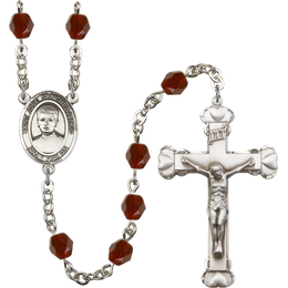 R6001 Series Rosary<br>Saint Jose Sanchez del Rio<br>Available in 12 Colors