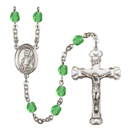 R6001 Series Rosary<br>St. Lucia of Syracuse<br>Available in 12 Colors