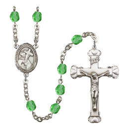 R6001 Series Rosary<br>St. Bernard of Clairvaux<br>Available in 12 Colors