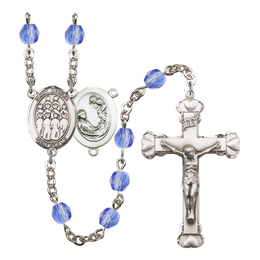 R6001 Series Rosary<br>St. Cecilia / Choir<br>Available in 12 Colors
