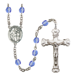 R6001 Series Rosary<br>Guardian Angel w/Children<br>Available in 12 Colors