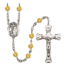 R6001 Series Rosary<br>St. Rocco<br>Available in 12 Colors