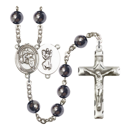 R6003 Series Rosary<br>St. Christopher/Motorcycle