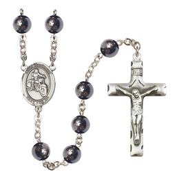 R6003 Series Rosary<br>St. Sebastian / Motorcycle