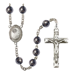 R6003 Series Rosary<br>Footprints / Cross