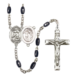 R6005 Series Rosary<br>St. Sebastian/Swimming