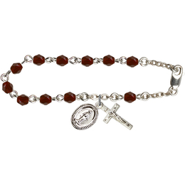 RB0034 Series Rosary Bracelet<br>Available in 16 Colors