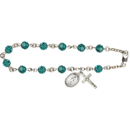 RB0866 Series Rosary Bracelet<br>Available in 20 Colors