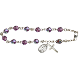 RB0867 Series Rosary Bracelet<br>Available in 19 Colors