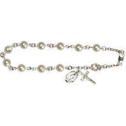 RB5816 Series Rosary Bracelet<br>Available in 2 Colors