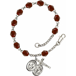 R6000 Series Rosary Bracelet<br>Confirmation/Chalice<br>Available in 12 Colors