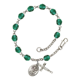 RB6000 Series Rosary Bracelet<br>St. Anthony of Padua<br>Available in 12 Colors