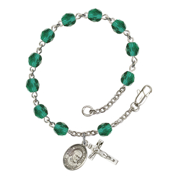 RB6000 Series Rosary Bracelet<br>St. Vincent de Paul<br>Available in 12 Colors