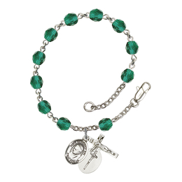 RB6000 Series Rosary Bracelet<br>Pope Emeritace Benedict XVI<br>Available in 12 Colors