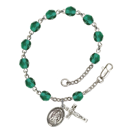 RB6000 Series Rosary Bracelet<br>St. Isaiah<br>Available in 12 Colors