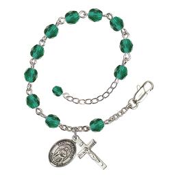 RB6000 Series Rosary Bracelet<br>St. Deborah<br>Available in 12 Colors