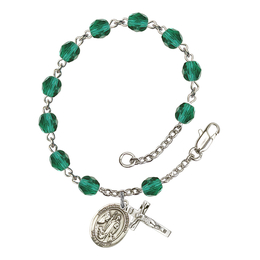 RB6000 Series Rosary Bracelet<br>St. Anthony of Egypt<br>Available in 12 Colors