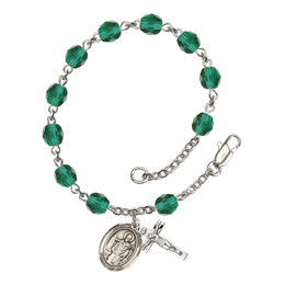 RB6000 Series Rosary Bracelet<br>St. Wolfgang<br>Available in 12 Colors