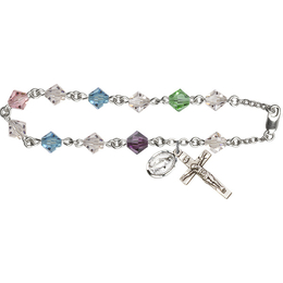 RB9587 Series Rosary Bracelet<br>Available in 2 Colors