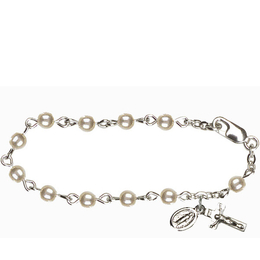 RBI3011 Series Infant Rosary Bracelet